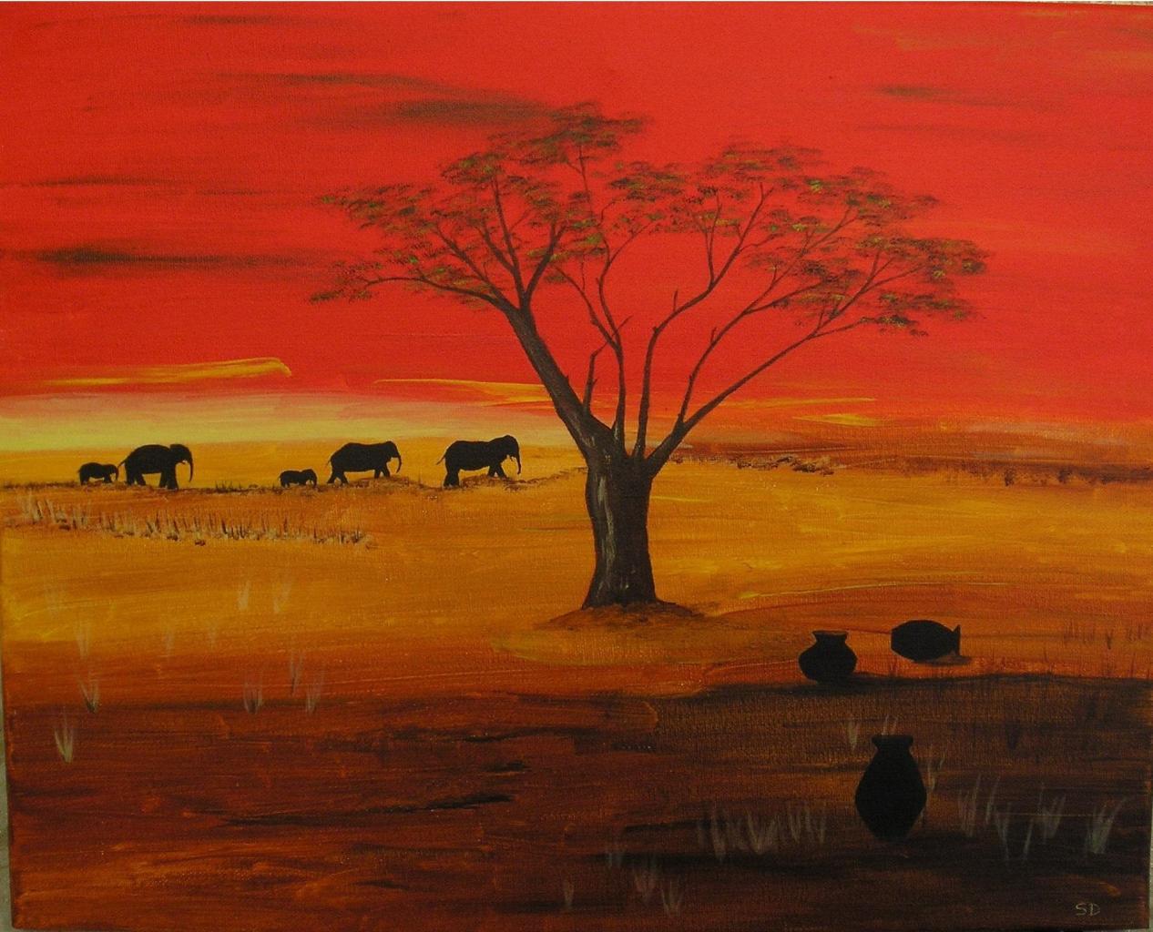 Promenade des éléphants
