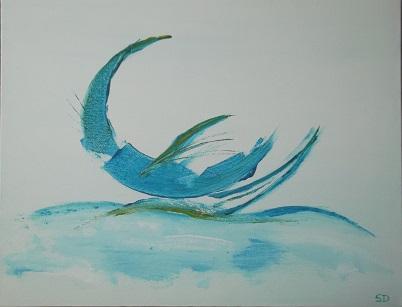 Bleu boat redi