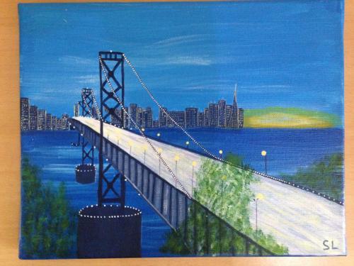 Le pont Oakland Bay