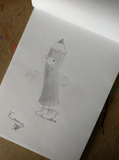 Drôle de crayon