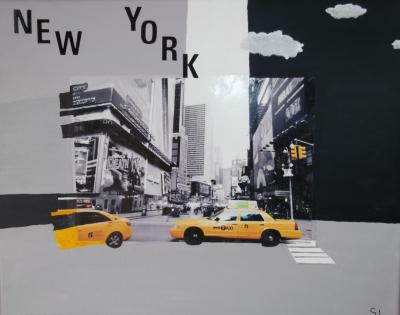 Taxi on New York